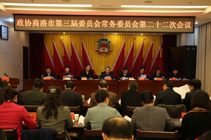 政协常委会举行第二十二次会议